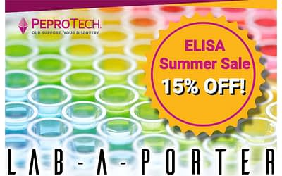 ELISA Summer Sale! 15% OFF only in August!