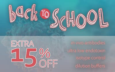 Bio X Cell Back To School Promotion